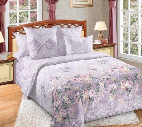 Фото 3 - Комплект постельного белья Букет перкаль.