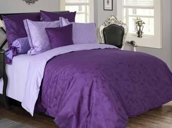 """Фото 3 - Комплект постельного белья """"Виола"""", евро, сатин жаккард."""