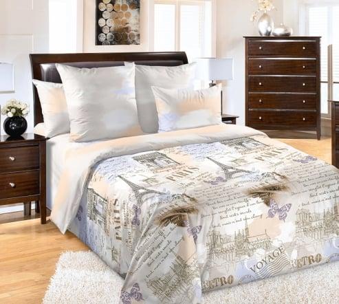 Фото 3 - Комплект постельного белья Вояж перкаль.