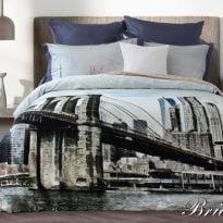 """Фото 10 - Комплект постельного белья """"Bridge"""", сатин жаккард."""