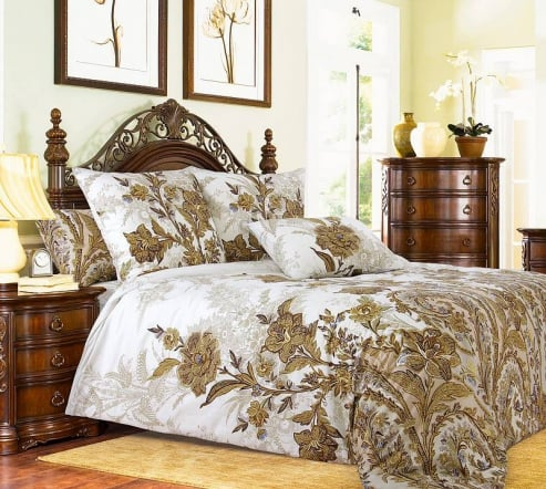 Фото 6 - Комплект постельного белья Музей перкаль.