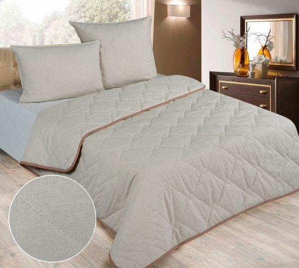 Фото 6 - Одеяло стеганое с льняным наполнитетелем 300г/м.
