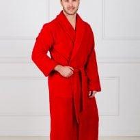 Фото 6 - Мужской махровый халат с шалькой.