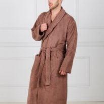 Фото 8 - Мужской махровый халат с шалькой.