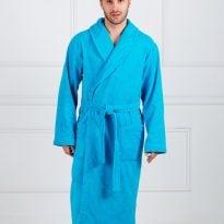 Фото 12 - Мужской махровый халат с шалькой.
