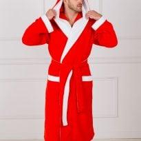 Фото 10 - Мужской махровый халат с капюшоном.