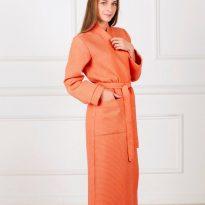 Фото 17 - Женский вафельный халат с планкой.
