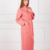 Фото 15 - Женский вафельный халат с планкой.