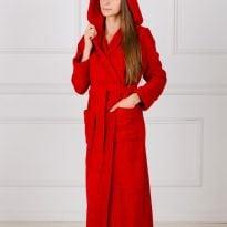 Фото 10 - Женский халат с капюшоном.