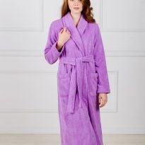 Фото 17 - Женский махровый халат с шалькой.