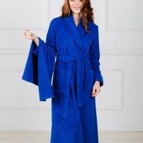 Фото 18 - Женский махровый халат с шалькой.