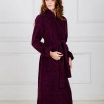 Фото 11 - Женский махровый халат с шалькой.