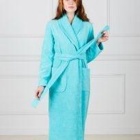 Фото 20 - Женский махровый халат с шалькой.