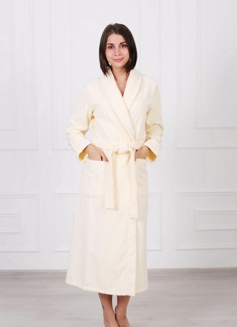 ce0c2cee645c Жаккардовый женский махровый халат с шалькой купить недорого ...