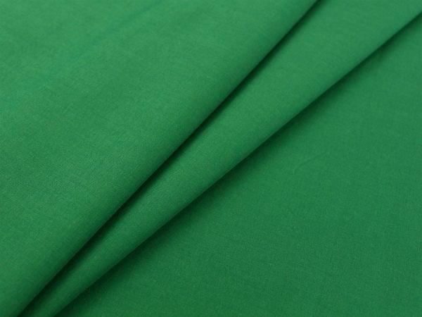 Фото 4 - Ткань хлопковая стрейч зеленая.