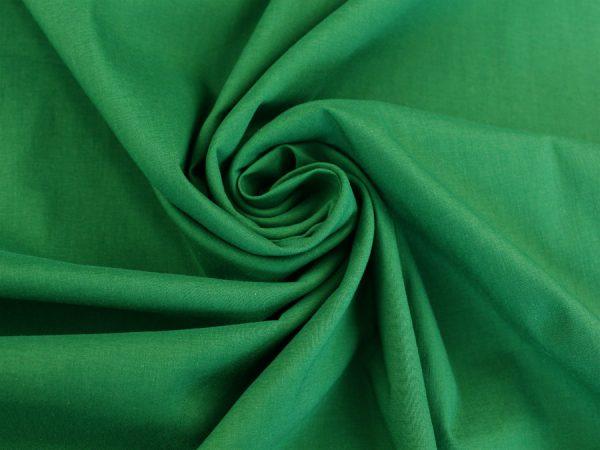 Фото 3 - Ткань хлопковая стрейч зеленая.
