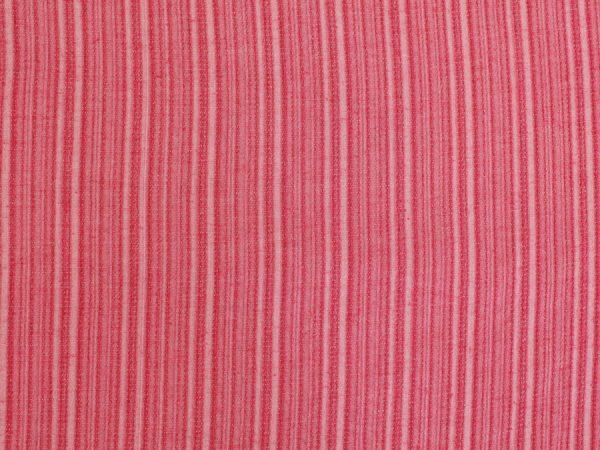 Фото 7 - Ткань смесовая костюмная розовая в полоску.