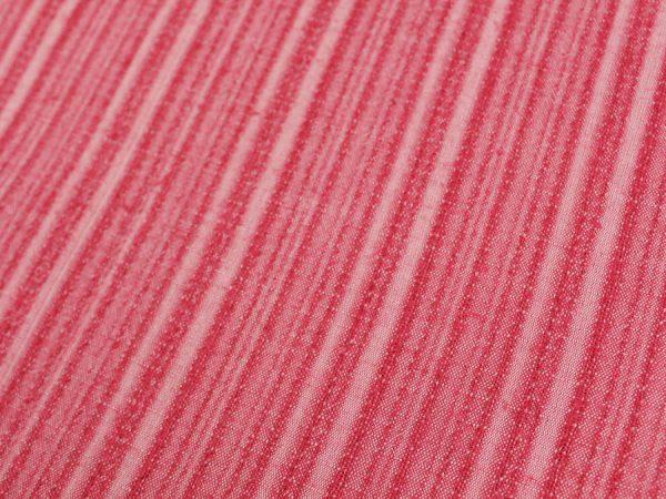 Фото 5 - Ткань смесовая костюмная розовая в полоску.