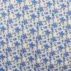 """Фото 10 - Ткань плательная """"голубые  цветы""""."""