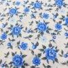 """Фото 12 - Ткань плательная """"голубые  цветы""""."""