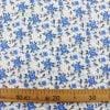 """Фото 13 - Ткань плательная """"голубые  цветы""""."""