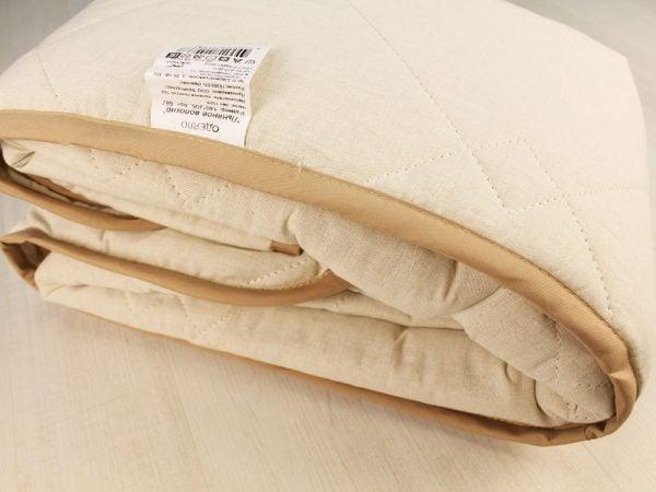 Одеяло стеганое с льняным наполнитетелем 150г/м