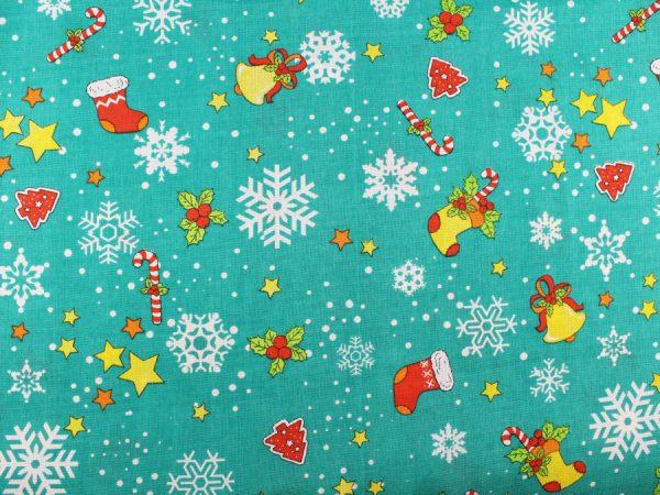 """Фото 4 - Вафельное полотно """"Зимний праздник""""."""