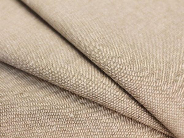Фото 3 - Льняная ткань для постельного белья серо-бежевая, ширина 220 см.