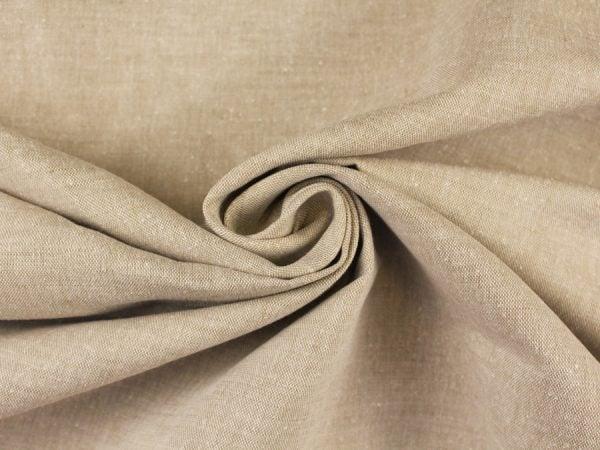 Фото 4 - Льняная ткань для постельного белья серо-бежевая, ширина 220 см.