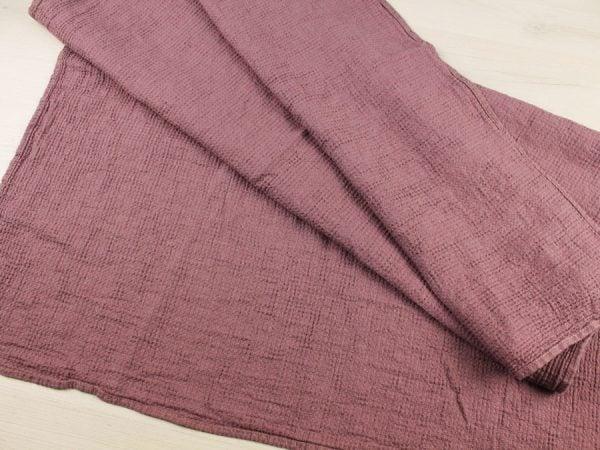 Фото 9 - Полотенце льняное вафельное 75*125 см.