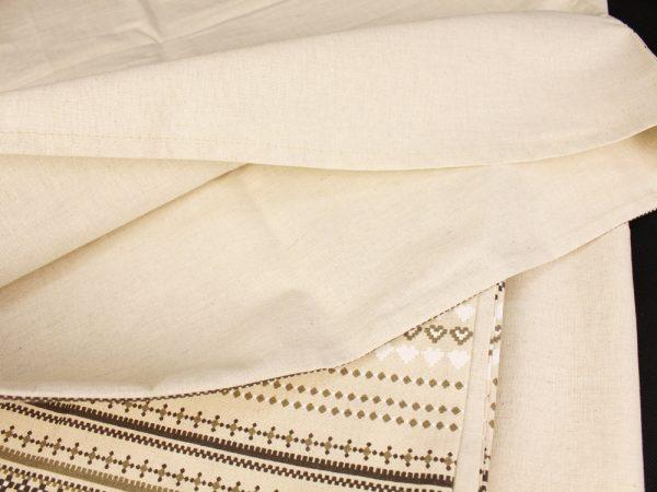 """Фото 7 - Комплект постельного белья 1,5 спальный, """"Строчка"""", полулен."""