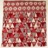 """Фото 10 - Полотенце льняное жаккардовое  """"Лоси"""" цвет красный."""