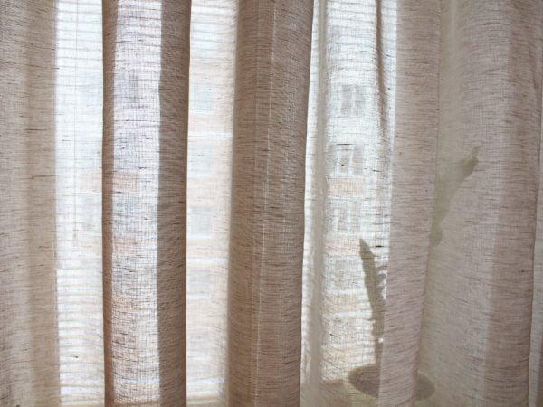 Фото 7 - Шторы льняные (вуаль) 250*260см.
