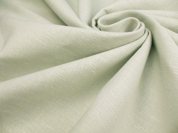 Фото 3 - Ткань льняная, плотная светло-бежевая.