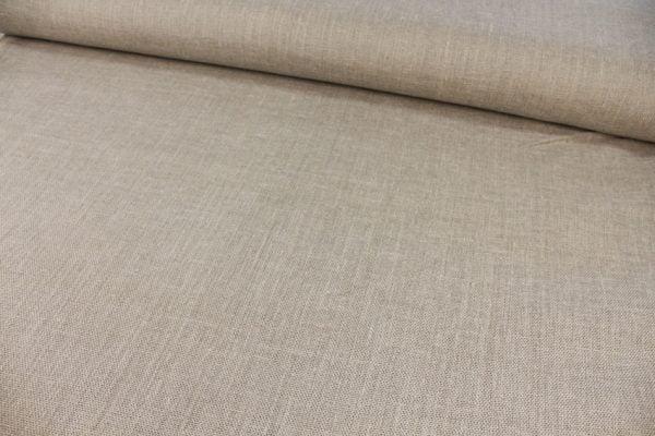 Фото 10 - Ткань льняная декоративная суровая, ширина 210 см.