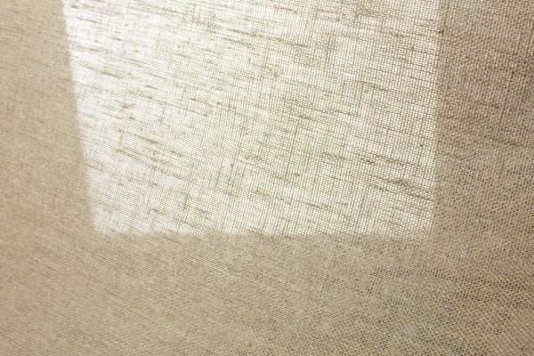 Фото 9 - Ткань льняная декоративная суровая, ширина 210 см.