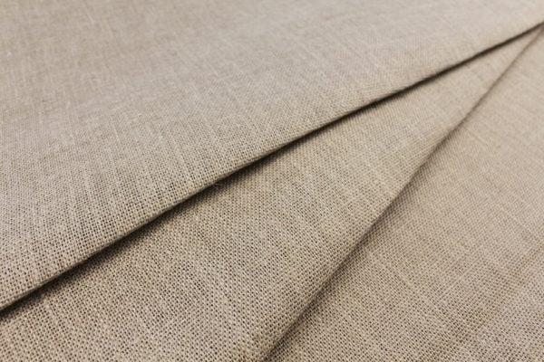 Фото 3 - Ткань льняная декоративная суровая, ширина 210 см.