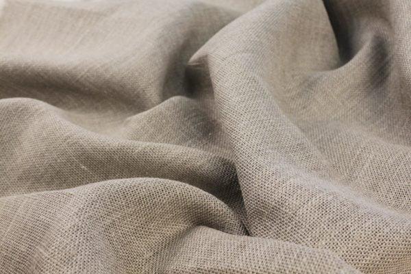 Фото 5 - Ткань льняная декоративная суровая, ширина 210 см.