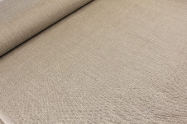 Фото 6 - Ткань льняная декоративная суровая, ширина 210 см.