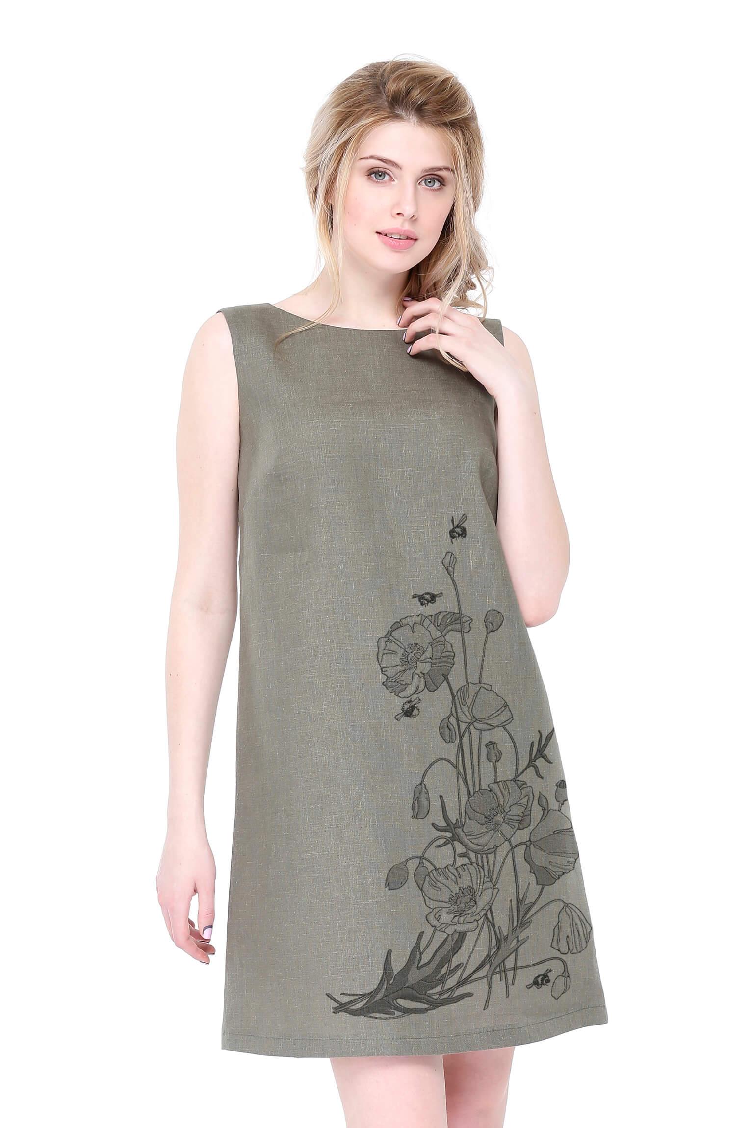 Платья льняные картинки