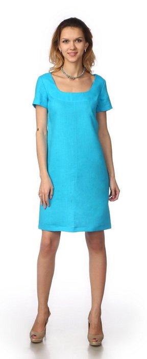 Фото 4 - Платье льняное.