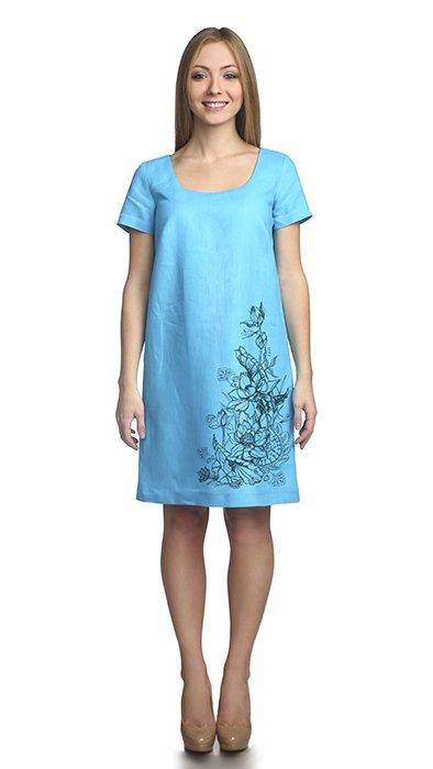 Фото 5 - Платье льняное.