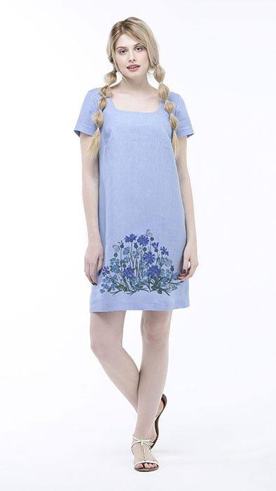 Фото 13 - Платье льняное.