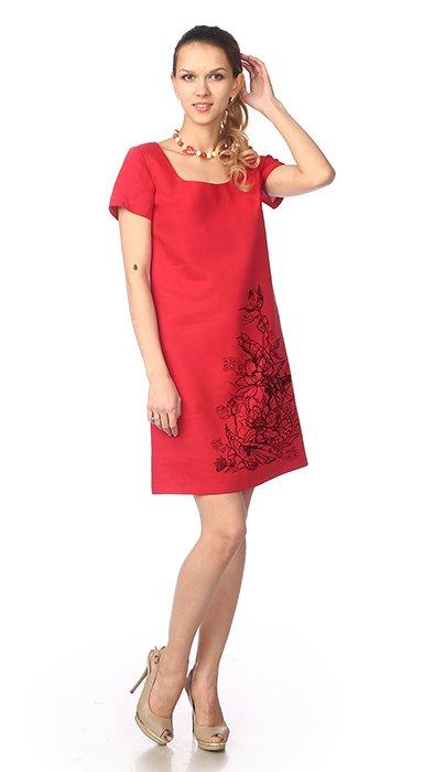 Фото 19 - Платье льняное.