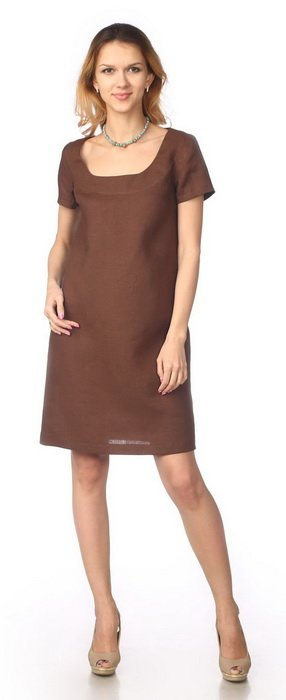Фото 26 - Платье льняное.