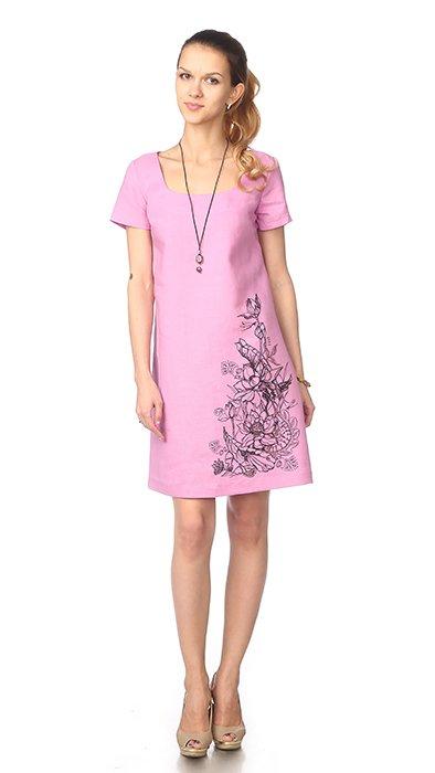 Фото 12 - Платье льняное.