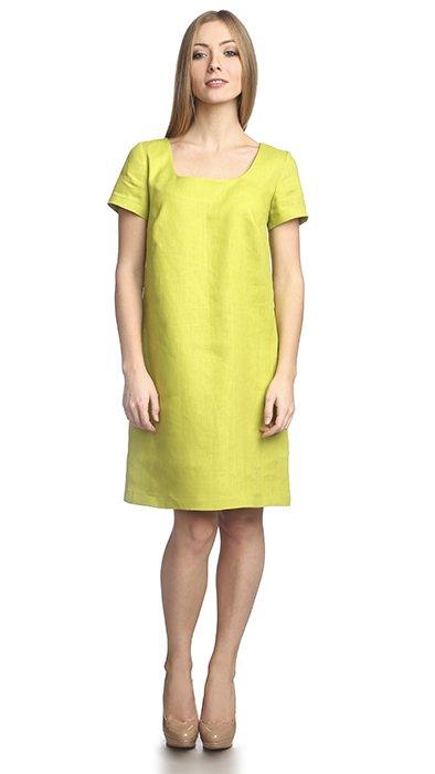 Фото 21 - Платье льняное.