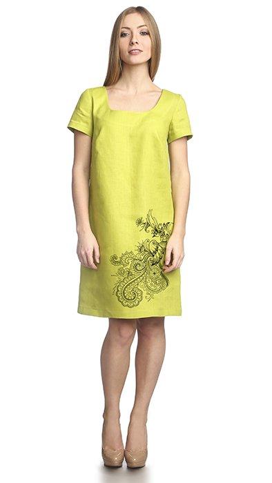 Фото 20 - Платье льняное.
