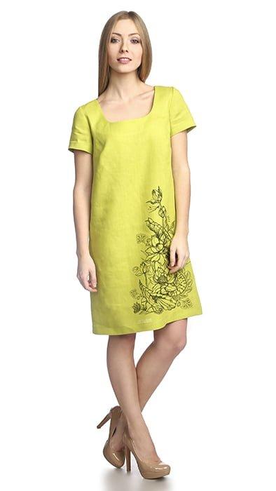 Фото 16 - Платье льняное.