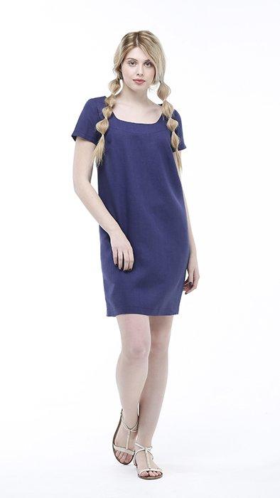Фото 7 - Платье льняное.